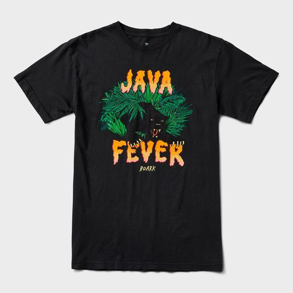 ROARK Java Fever S/S T-Shirt black