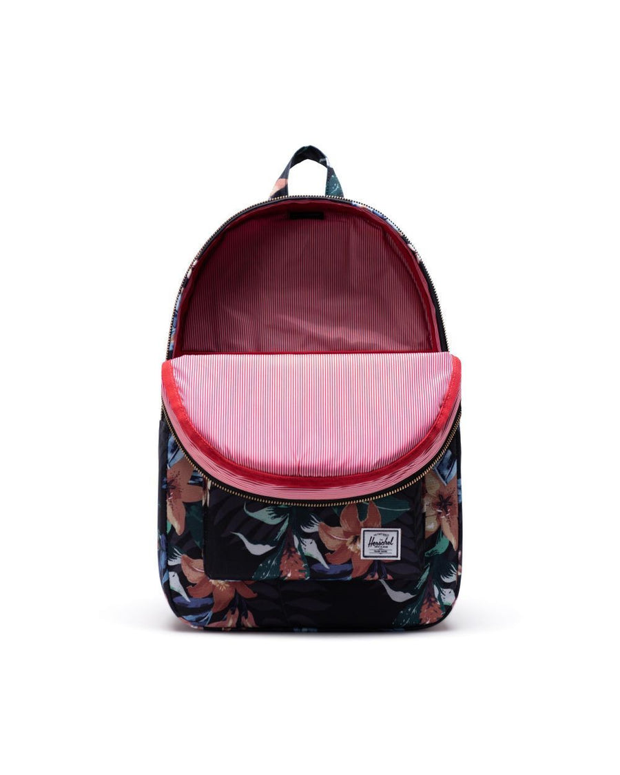 HERSCHEL Settlement Backpack Summer Floral Black