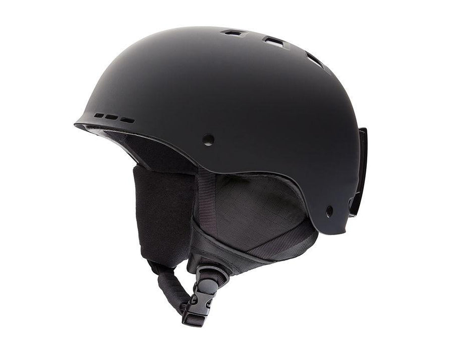 SMITH Holt Snow Helmet Matte Black 2020 SNOWBOARD ACCESSORIES - Men's Snowboard Helmets Smith