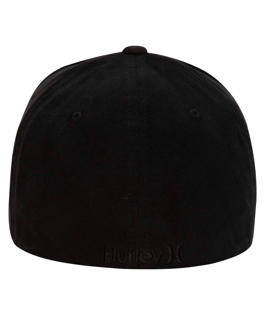 HURLEY Black Textures Hat Black/Micro Cord