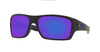 OAKLEY Turbine Matte Black - Violet Iridium Sunglasses