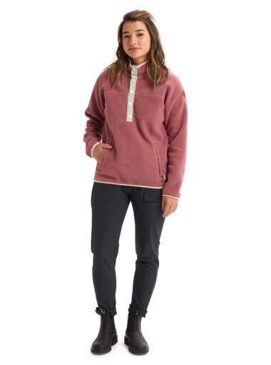 BURTON Hearth Fleece Pullover Women/s Rose Brown