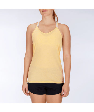 HURLEY Burnout Tank Top Women's Melon Tint