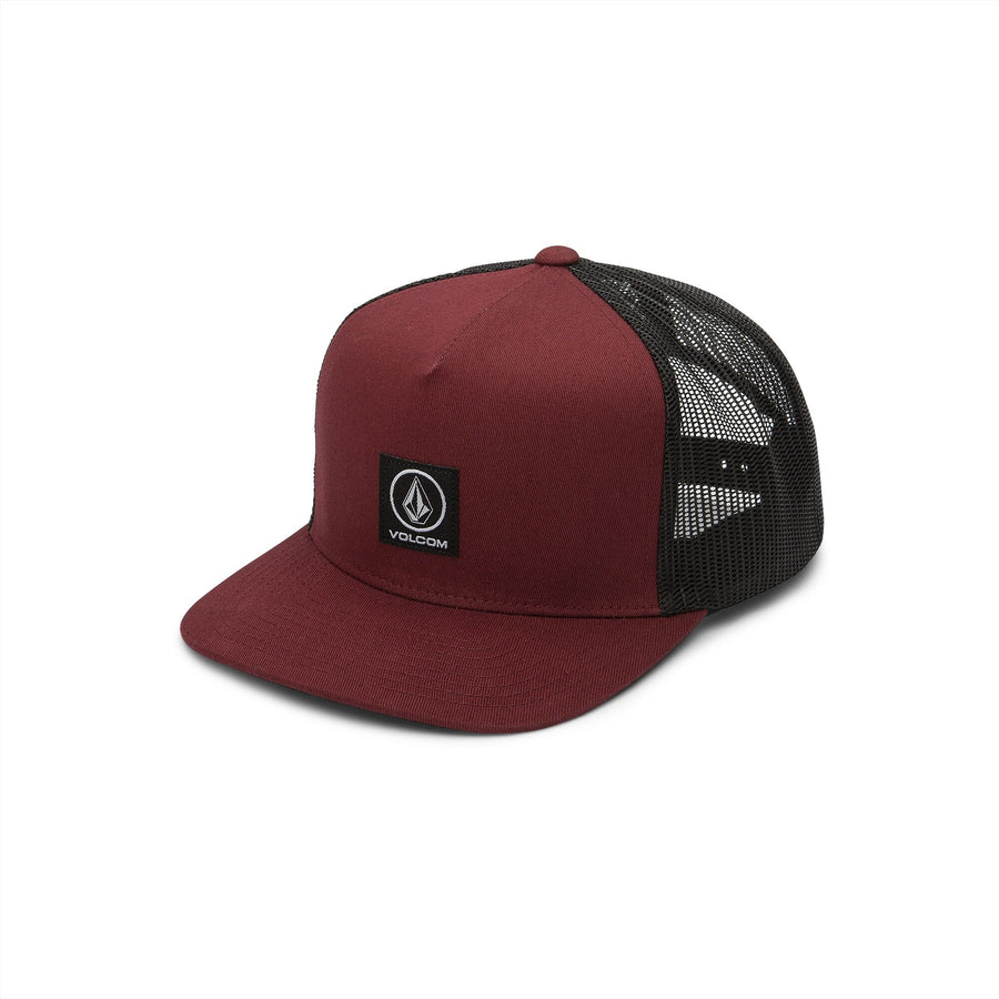 VOLCOM Box Stone Cheese Trucker Hat Pinot KIDS APPAREL - Boy's Hats Volcom
