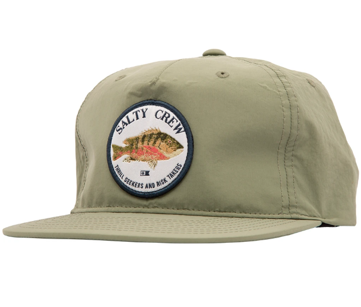 SALTY CREW Offshore Snapback Hat Sage MENS ACCESSORIES - Men's Baseball Hats Salty Crew