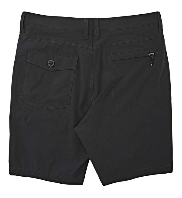 BILLABONG Surftrek Heather Walkshorts Charcoal Heather MENS APPAREL - Men's Walkshorts Billabong