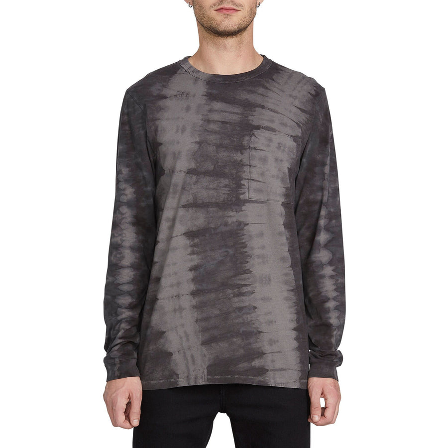 VOLCOM Chill Dye L/S T-Shirt Black