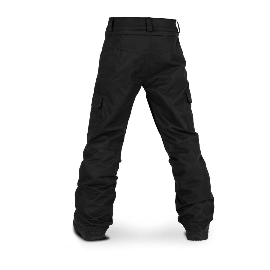 VOLCOM Cargo Insulated Youth Snowboard Pants Black 2020 YOUTH INFANT OUTERWEAR - Youth Snowboard Pants Volcom