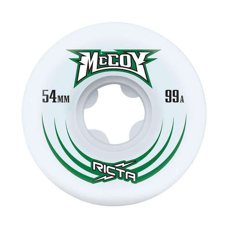 RICTA Maurio McCoy Pro Slim 99A 54mm Skateboard Wheels SKATE SHOP - Skateboard Wheels Ricta