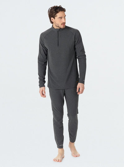 BURTON Expedition Base Layer Pants True Black Heather MENS OUTERWEAR - Men's Base Layer Burton