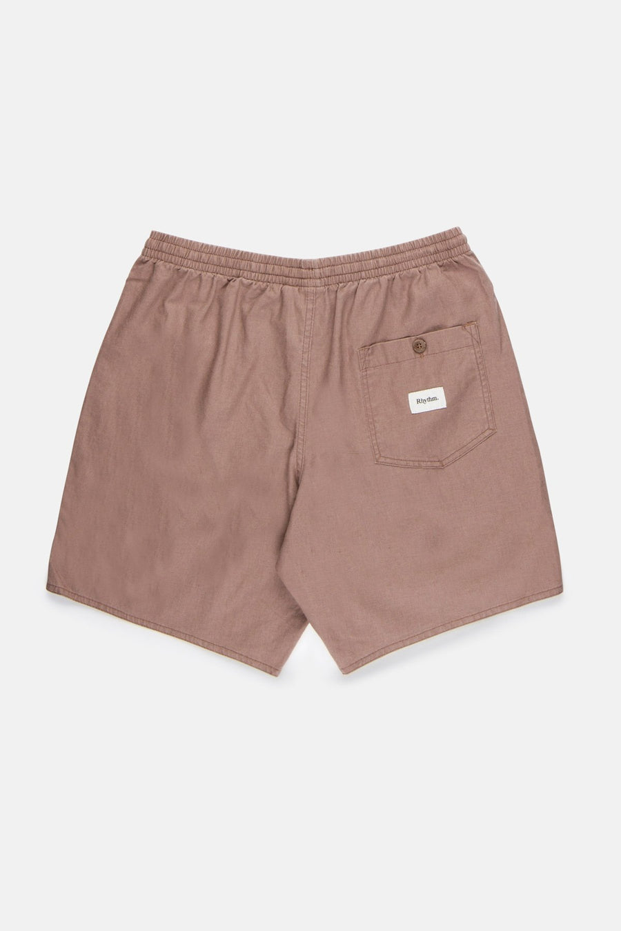 RHYTHM Linen Jam Shorts Berry