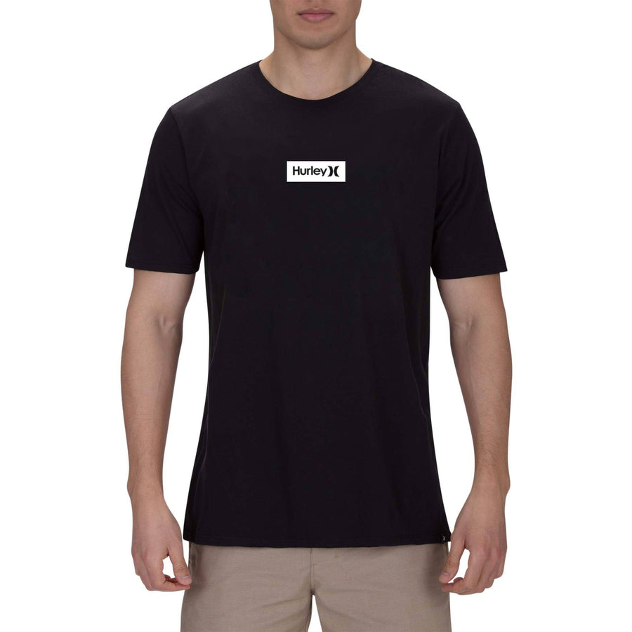 HURLEY One And Only Small Box T-Shirt Black/White