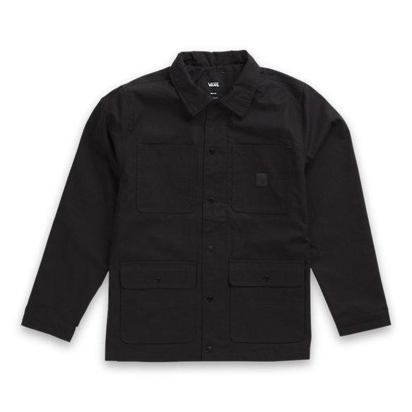 VANS Drill Chore Coat Black MENS APPAREL - Men's Street Jackets Vans