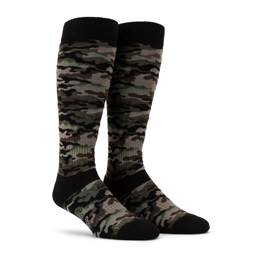 VOLCOM Synth Snowboard Socks Army SNOWBOARD ACCESSORIES - Men's Snowboard Socks Volcom