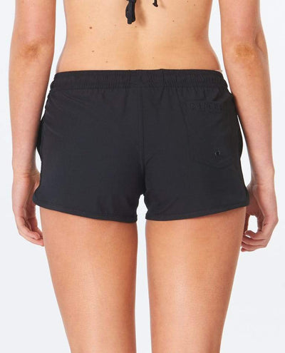 "RIP CURL Classic Surf Eco 3"" Boardshorts Women's Black WOMENS APPAREL - Women's Boardshorts Rip Curl"