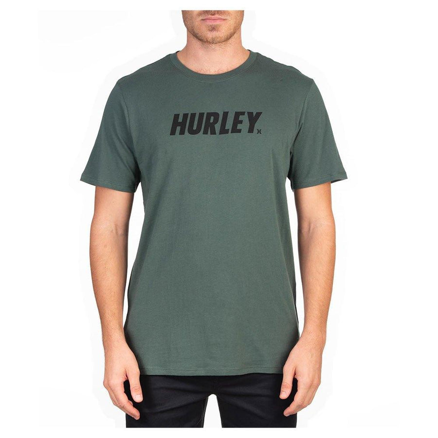 HURLEY Fastlane T-Shirt Vintage Green MENS APPAREL - Men's Short Sleeve T-Shirts Hurley