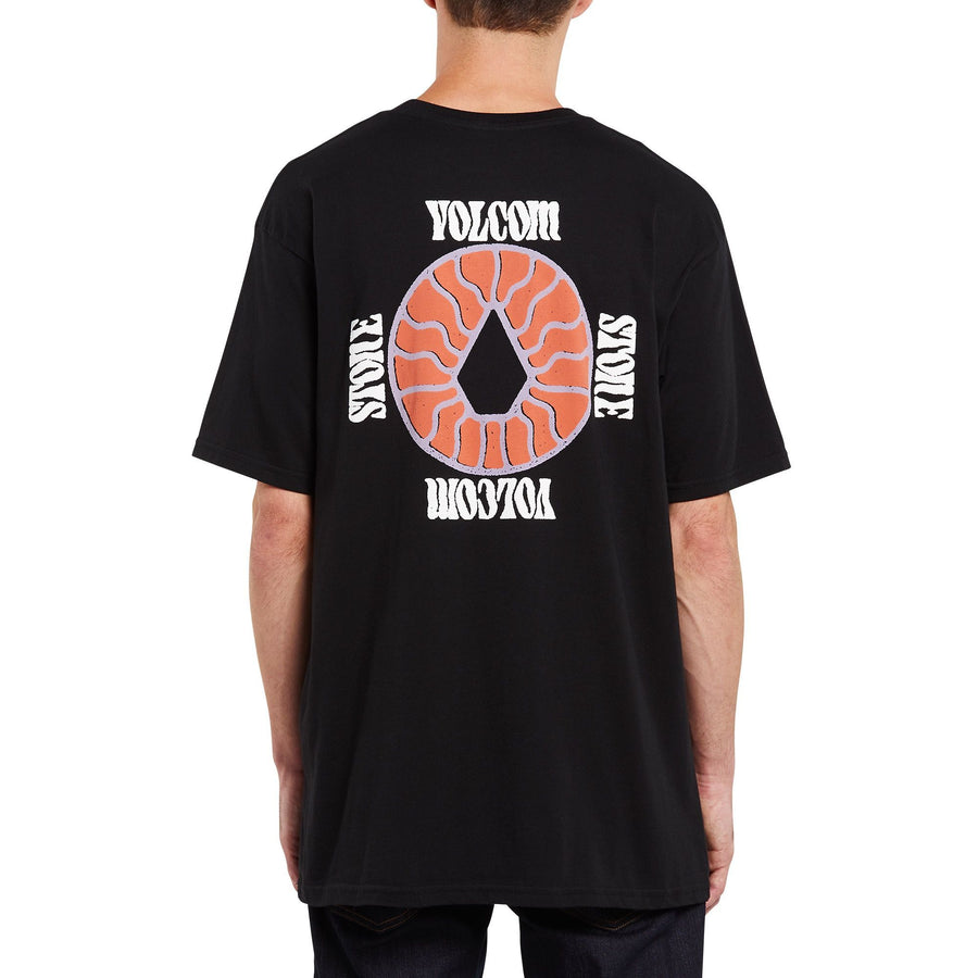 VOLCOM Surprise Pocket T-Shirt Black MENS APPAREL - Men's Short Sleeve T-Shirts Volcom M