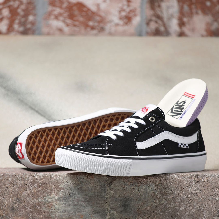 VANS Skate Sk8-Low Shoes Black/White