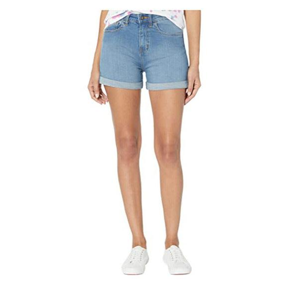 VANS High Rose Roll Cuff Short Women's Ocean Wash WOMENS APPAREL - Women's Walkshorts Vans 26