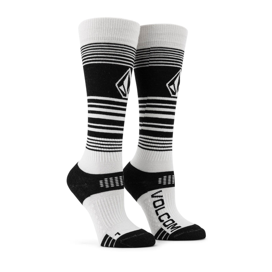 VOLCOM Tundra Tech Snowboard Socks Women's Black SNOWBOARD ACCESSORIES - Men's Snowboard Socks Volcom