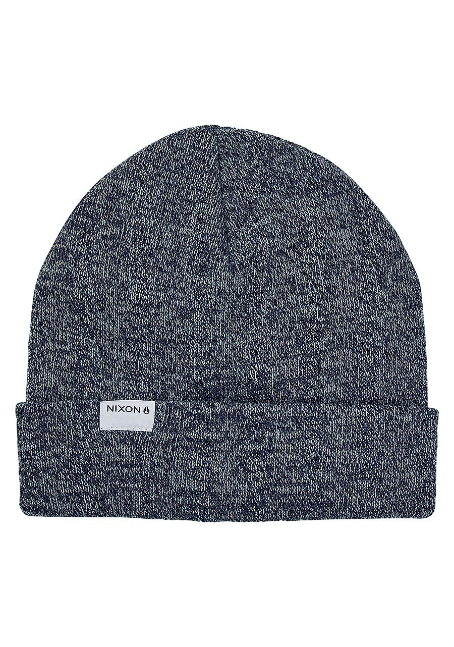 NIXON Logan Beanie Navy Heather MENS ACCESSORIES - Men's Beanies Nixon