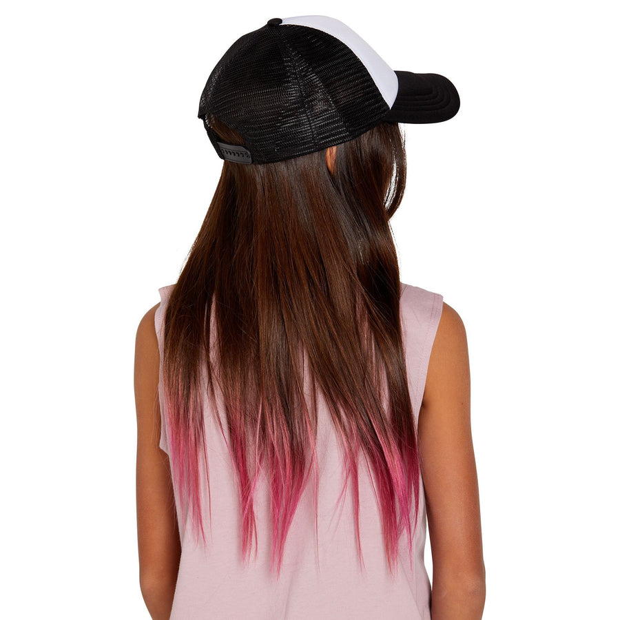 VOLCOM Hey Slims Hat Girls Black KIDS APPAREL - Girl's Hats Volcom