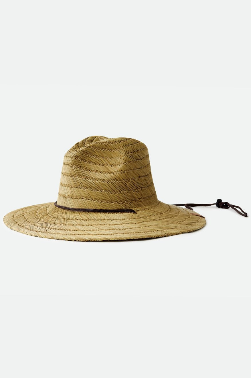 BRIXTON Bells Sun Hat Tan MENS ACCESSORIES - Men's Bucket Hats Brixton