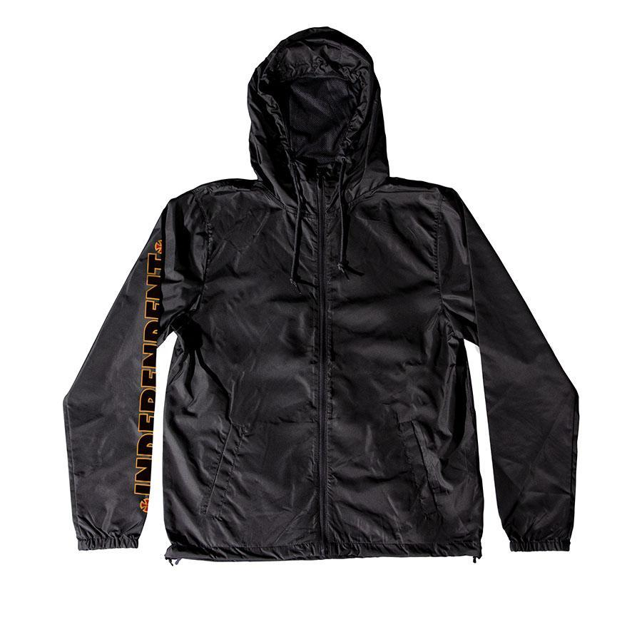 INDEPENDENT B/C Primary Windbreaker Black MENS APPAREL - Men's Street Jackets Independent