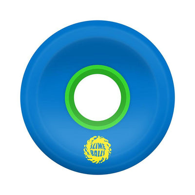 SLIME BALLS OG Slime Blue/Green 78A 60mm Skateboard Wheels SKATE SHOP - Skateboard Wheels Slimeballs