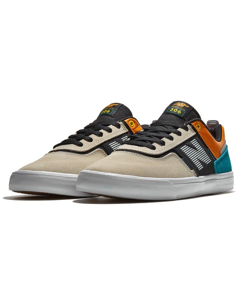 NEW BALANCE Numeric 306 Shoes Cream/Multi FOOTWEAR - Men's Skate Shoes New Balance 9