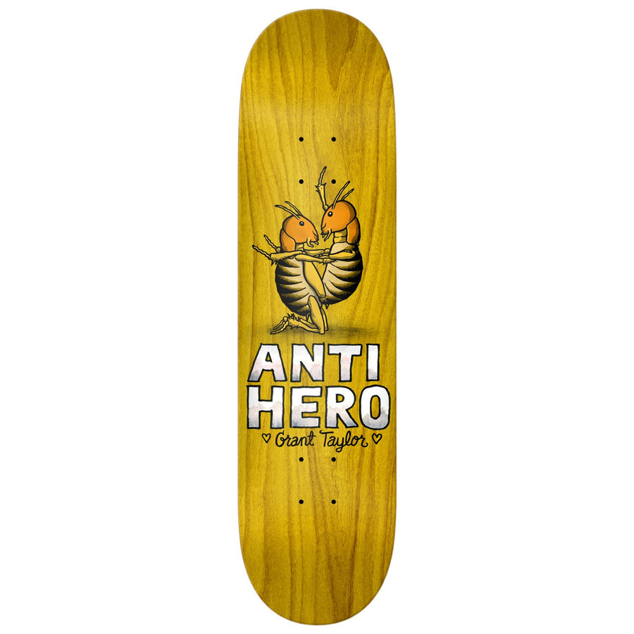 ANTIHERO Taylor Lovers II 8.12 Skateboard Deck SKATE SHOP - Skateboard Decks Antihero