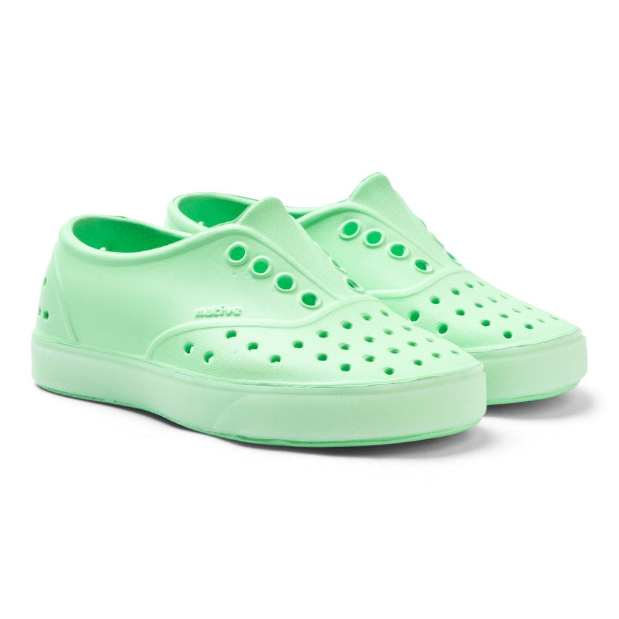 NATIVE Miller Glow Child Shoes Mescal Green/ Glow FOOTWEAR - Youth Native and People Shoes Native Shoes 4