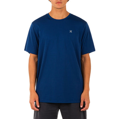 HURLEY Everyday Explore Icon Reflective T-Shirt Coastal Blue MENS APPAREL - Men's Short Sleeve T-Shirts Hurley M