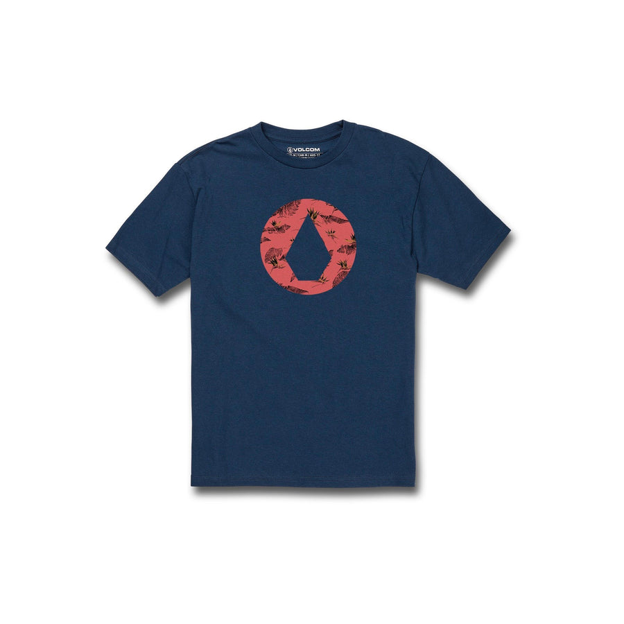 VOLCOM Luxate T-Shirt Boy's Harbour Blue KIDS APPAREL - Boy's T-Shirts Volcom