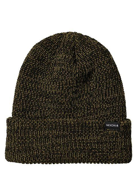 NIXON Thomas Beanie Black MENS ACCESSORIES - Men's Beanies Nixon
