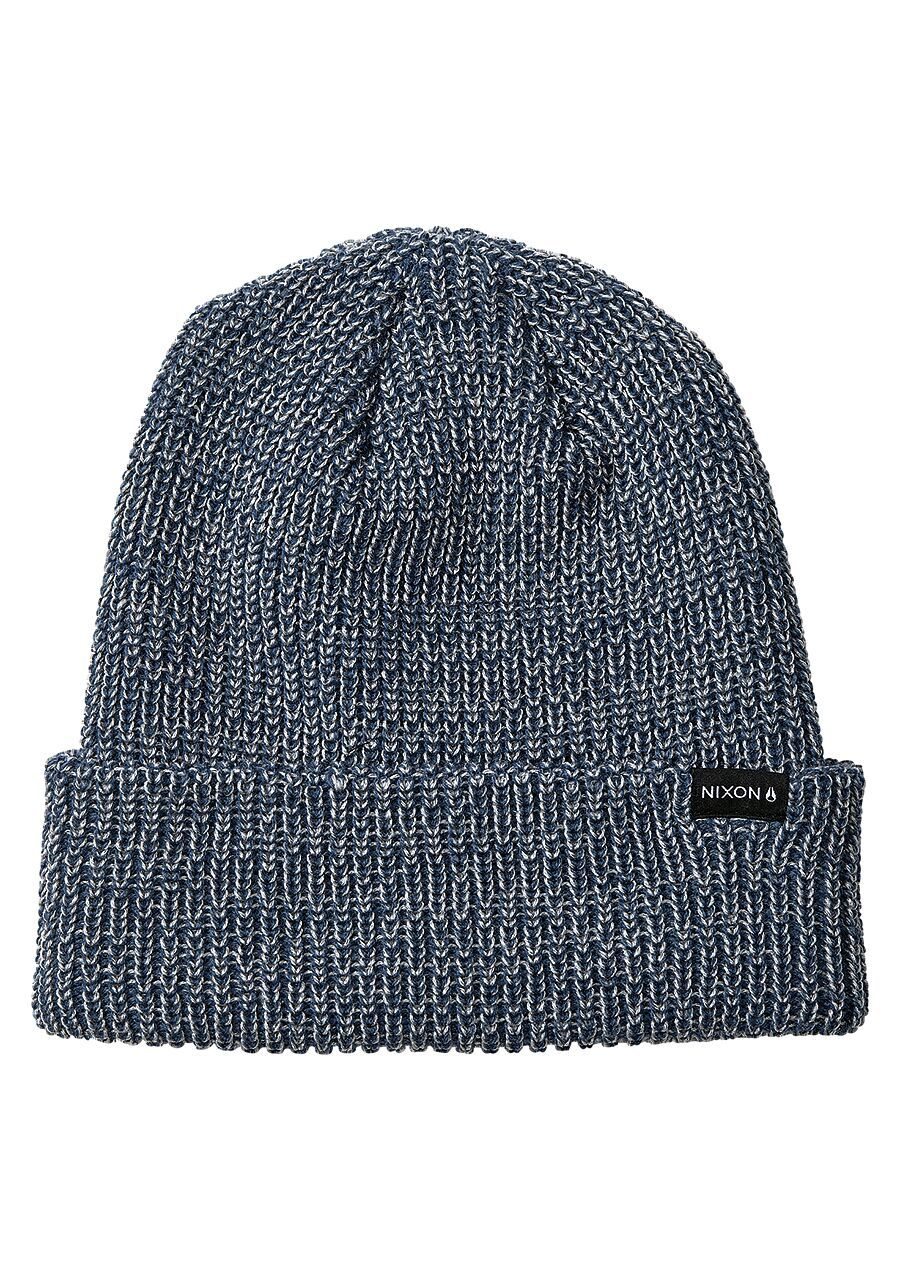 NIXON Thomas Beanie Indigo MENS ACCESSORIES - Men's Beanies Nixon