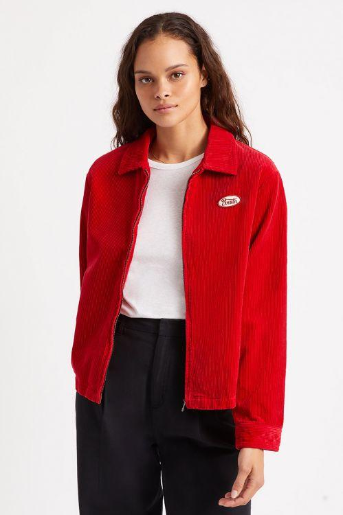 BRIXTON Utopia Jacket Women's Chilli Pepper WOMENS APPAREL - Women's Street Jackets Brixton