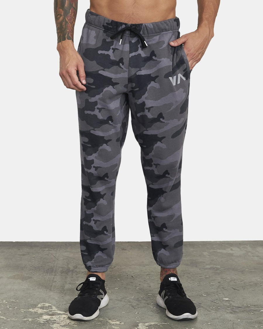 RVCA Swift Sweatpant Camo MENS APPAREL - Men's Sweatpants RVCA M
