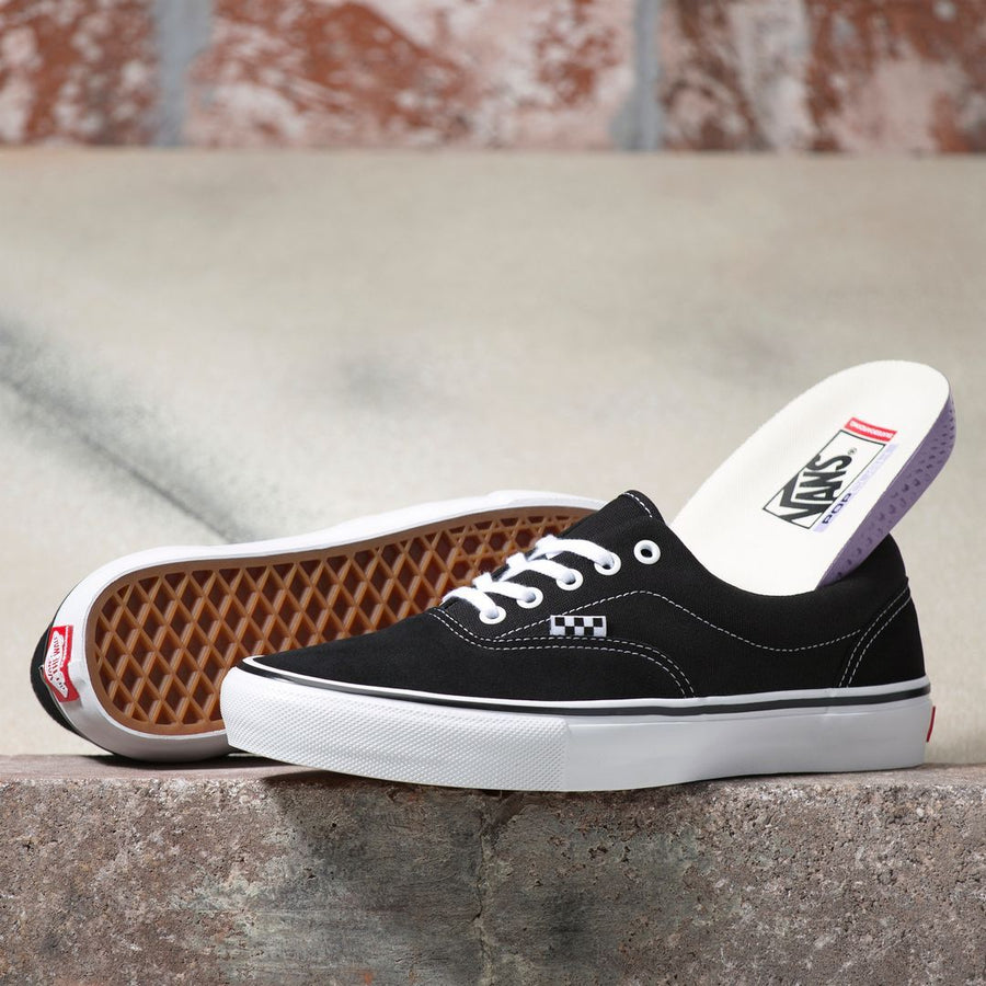 VANS Skate Era Shoes Black/White