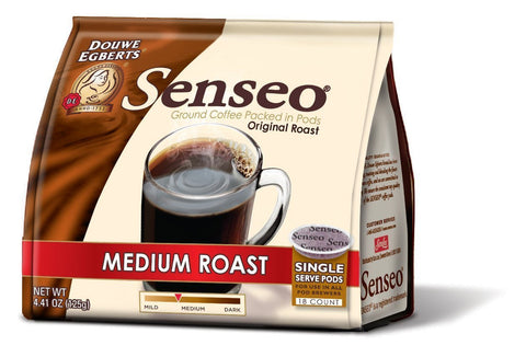 Senseo Coffee Pods, Medium Roast,18 Count