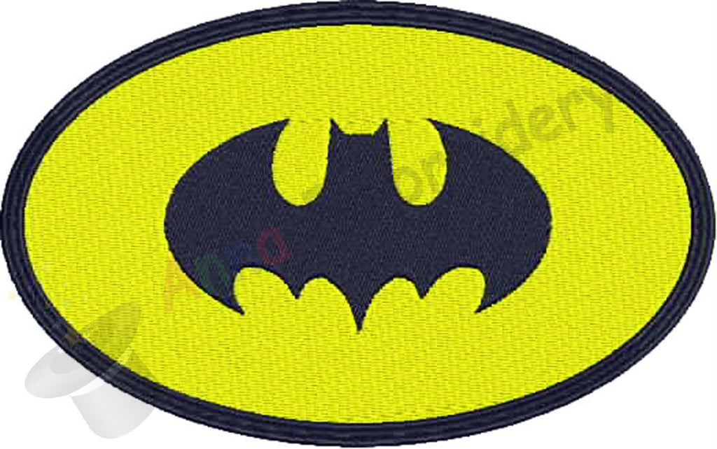 Bat Machine Embroidery Design,Machine embroidery design,animal embroidery,Embroidery Kids Baby,filled stitch,9 SIZES, 8 formats