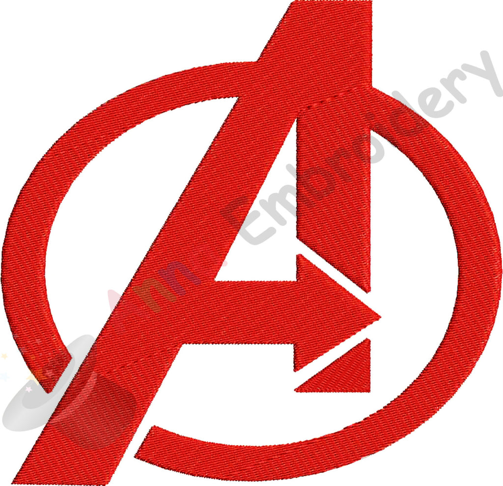 A Letter Embroidery Superhero Embroidery Designmachine Patterns