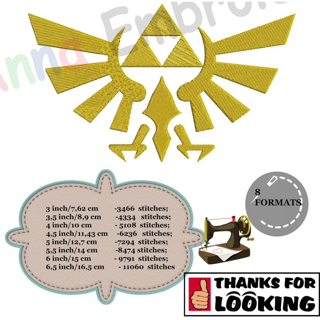 Symbols embroidery designs anna embroidery designs hylian crest machine embroidery designgoddess hyliagoddess crestroyal crestfilled bankloansurffo Gallery