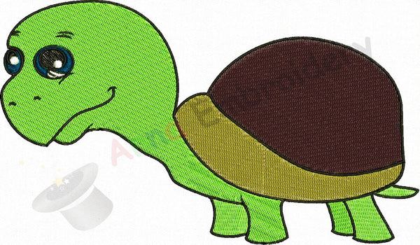 Turtle Machine Embroidery Design,sea life,machine embroidery, machine patterns,8 sizes design, INSTANT DOWNLOAD