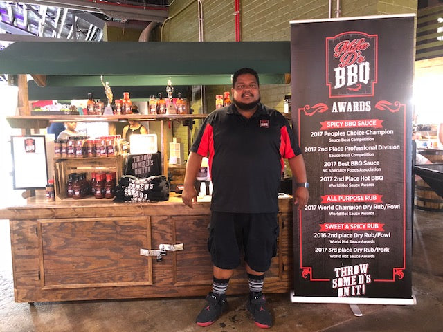 Mike D's BBQ at the Morgan Street Food Hall