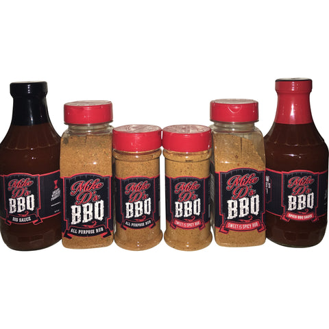 Mike D's BBQ Products