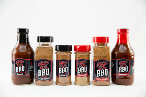 Mike D's BBQ Product Lineup