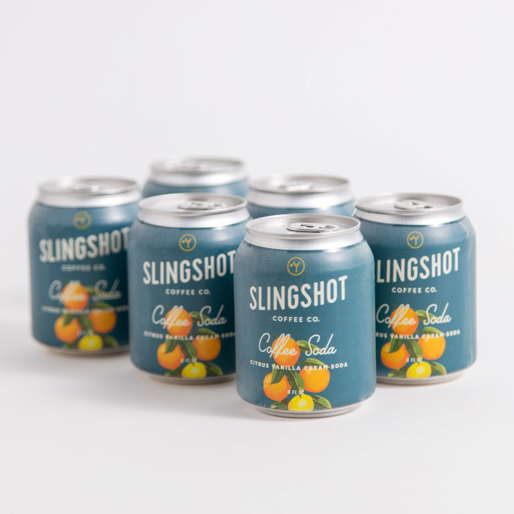 Slingshot Coffee - Citrus Vanilla Cream Soda