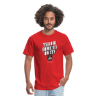 Throw Some D's On It T-Shirt - red
