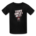 Youth Throw Some D's On It T-Shirt - black
